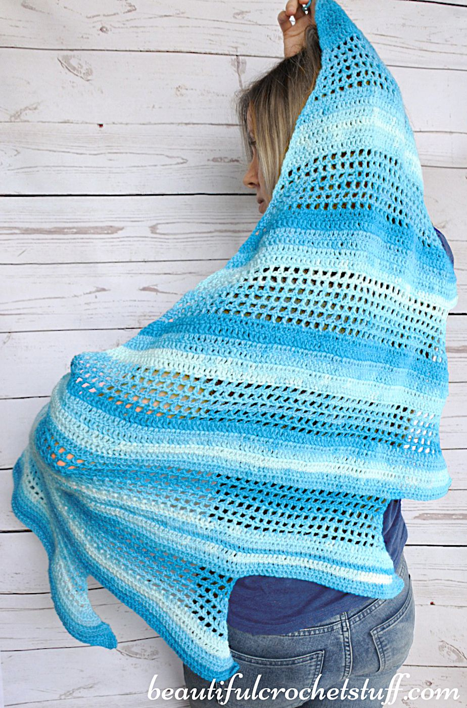 Crochet Baktus Scarf Free Pattern Diy Pinterest Crochet
