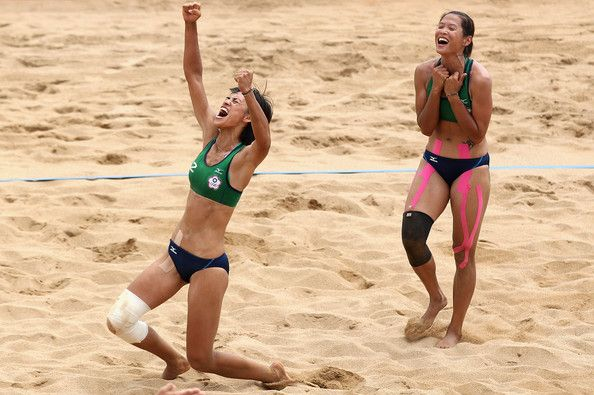 People Photos Beach Volleyball Chinese Taipei Volleyball