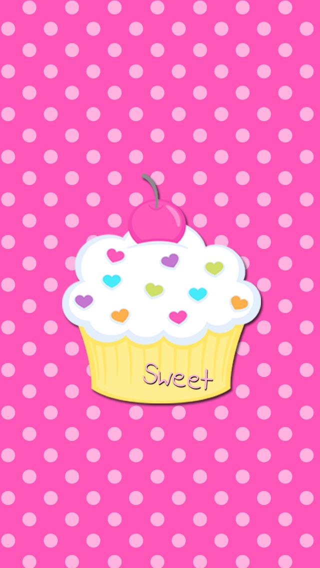 Pretty Cupcake Wallpaper