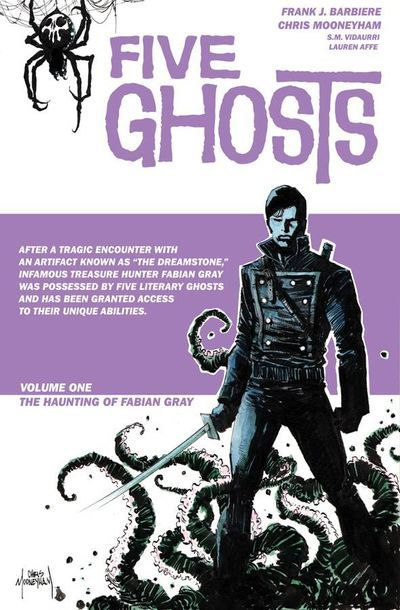NEW COMIC DAY TOMORROW, OUR PICKS: FIVE GHOSTS TP VOL.1 Haunting of Fabian Gray