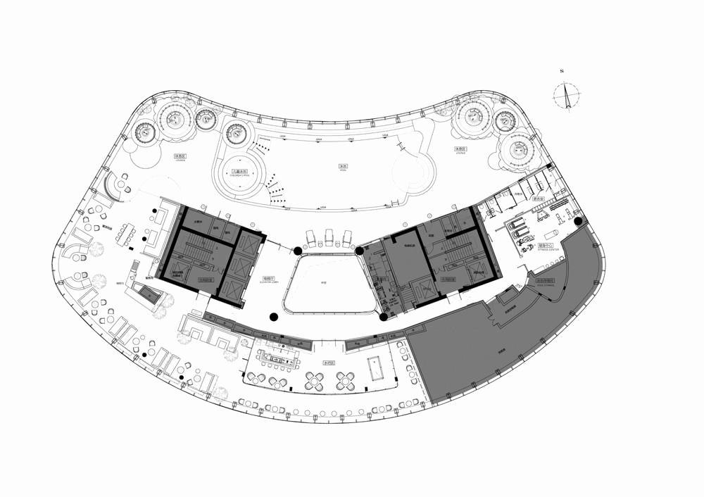 Garage Conversions Floor Plans Elegant Aeccafe Hyatt Place Hotel Sanya In China By Blvd International