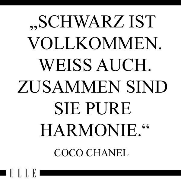 coco chanel das brauchst du in deinem kleiderschrank pinterest coco chanel quotation and black. Black Bedroom Furniture Sets. Home Design Ideas