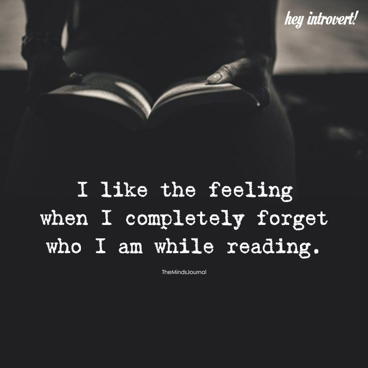 I Like The Feeling When I Completely Forget #bookstoread