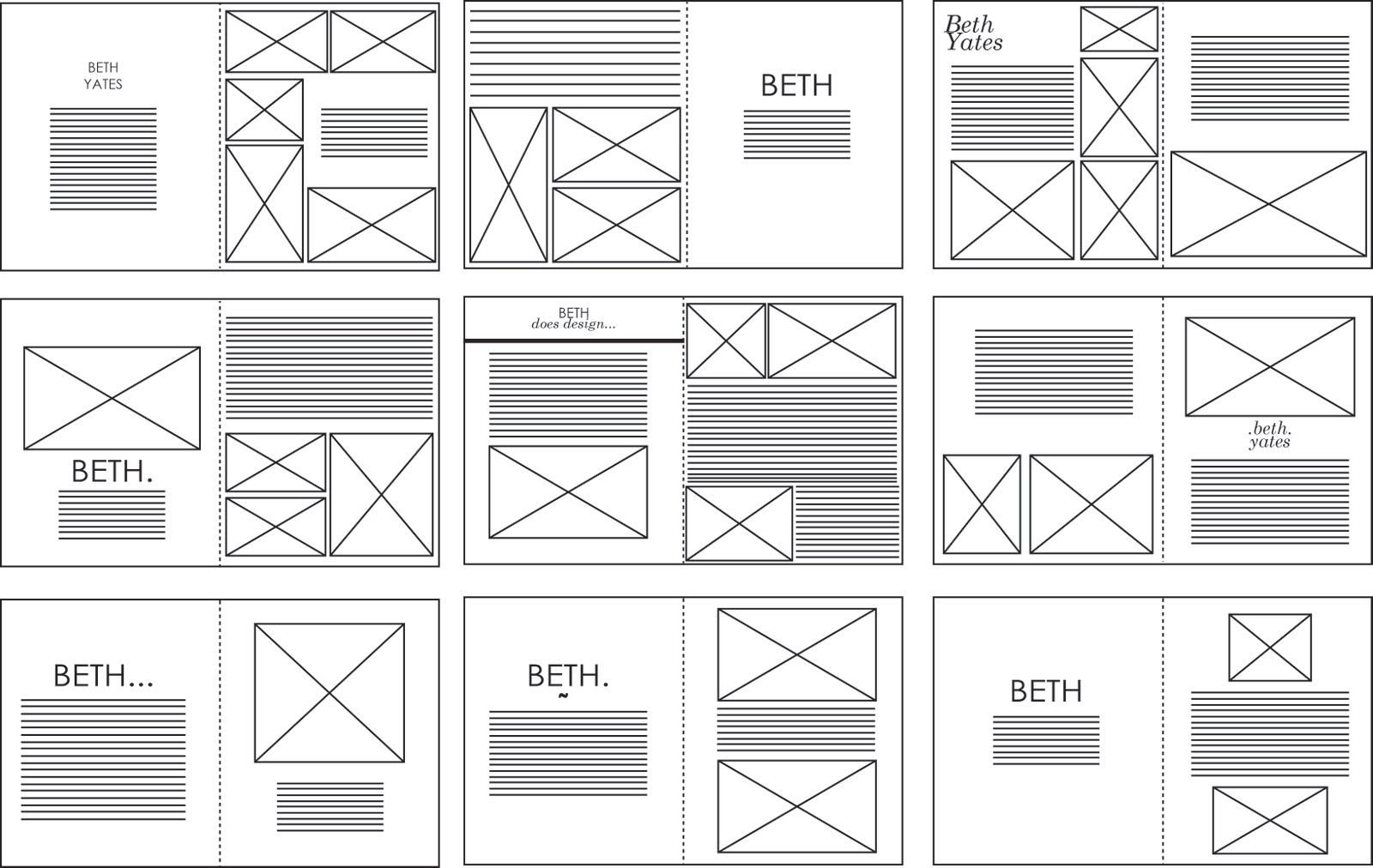 Sophie Wilson//Design Practice: InDesign layouts: Vectored ...
