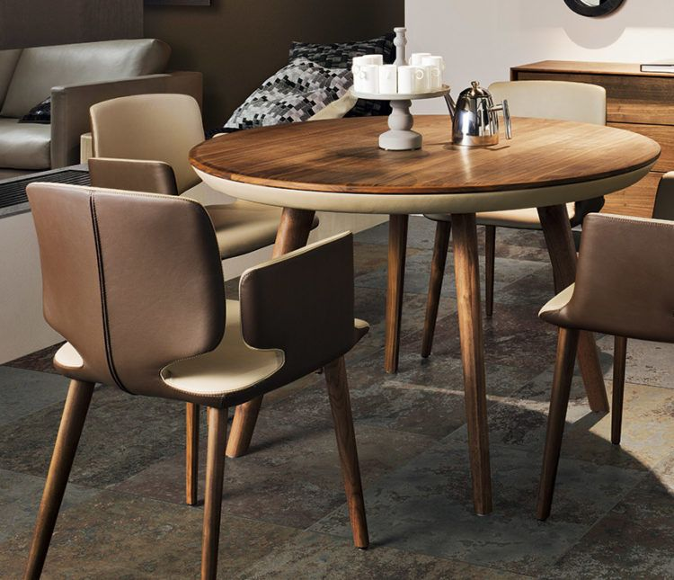 10 Perfect Types Of Dining Room Tables For A Small Area Small Dining Room Decor Small Dining Table Round Wood Dining Table
