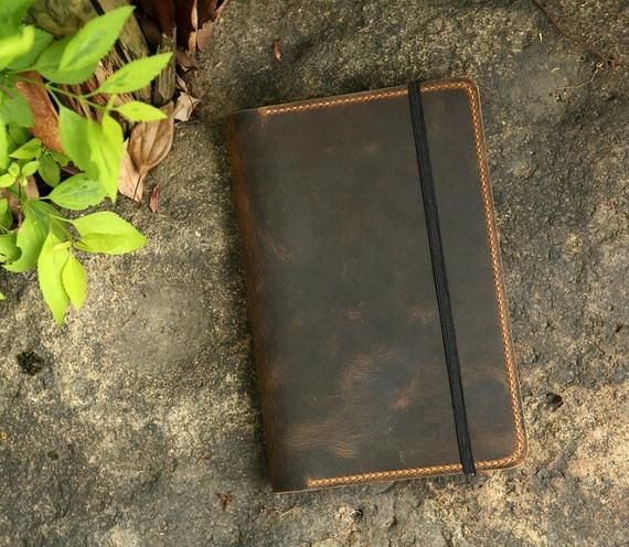 Personalized Leather Cover For Leuchtturm 1917 Medium A5