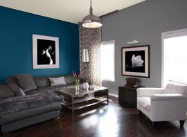 Salon Idées Peinture Couleurs Sico Coloer Pinterest - Idee peinture salon pour idees de deco de cuisine