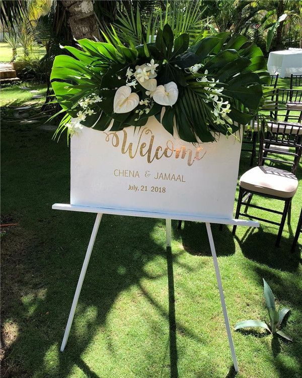 Small Ceremony Big Reception Invitations: 39 Eye-catching Tropical Wedding Ideas To Rock