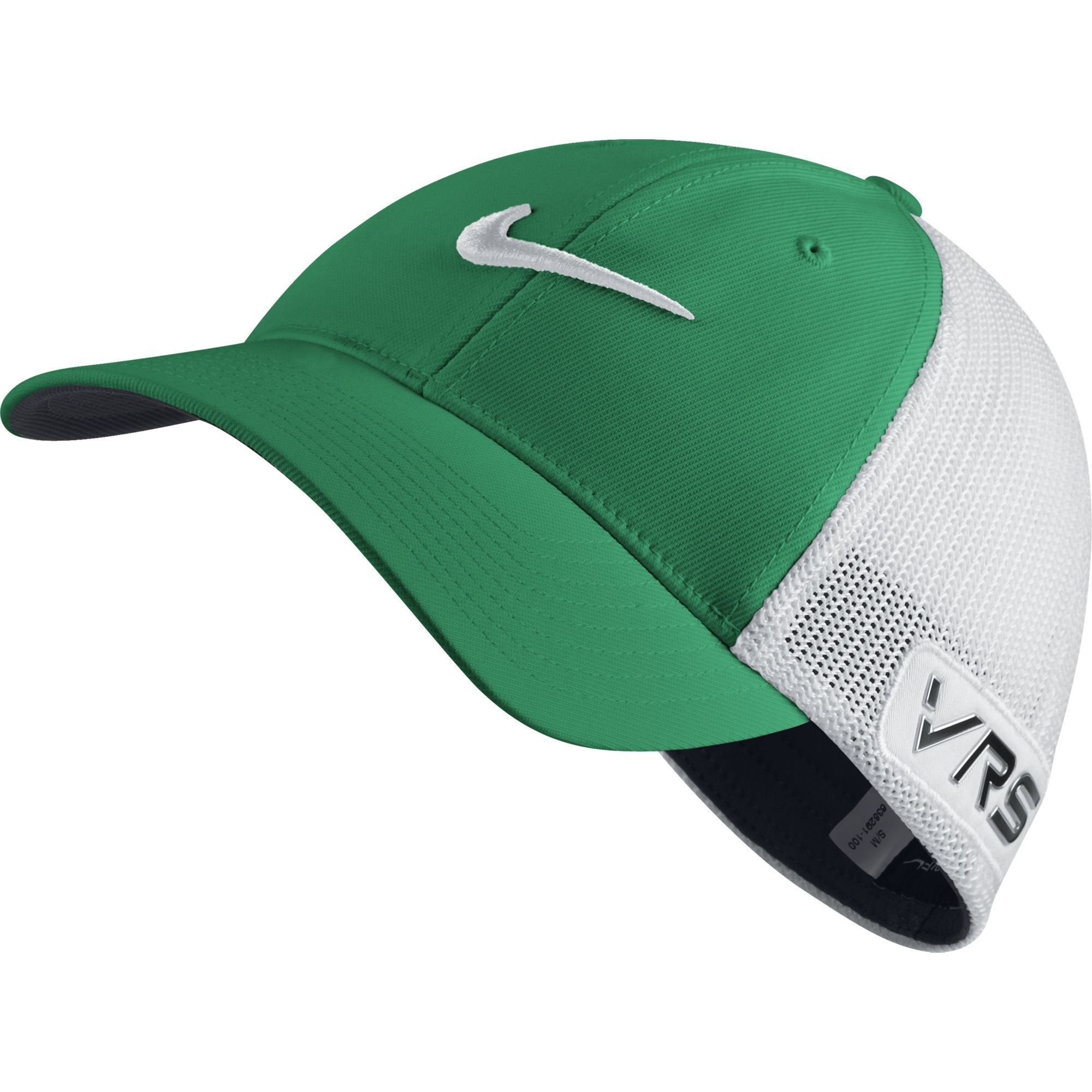 ec1f627cdd9 Women Golf Clothing - Nike GOLF TOUR FLEXFIT CAP new logo LUCID GREEN WHITE  M L