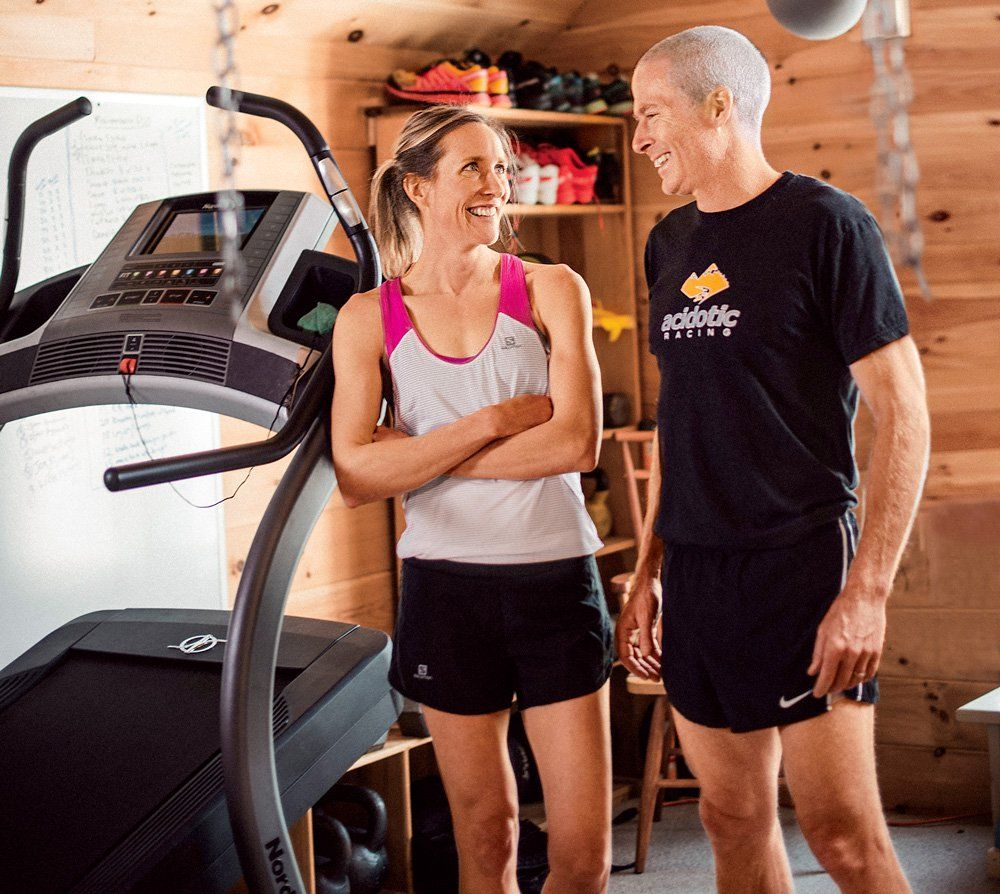 How this couple rekindled their love for the sport fit