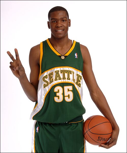 fb61df80ed6 Kevin Durant. Wish they were still the Sonics. Go Thunder!