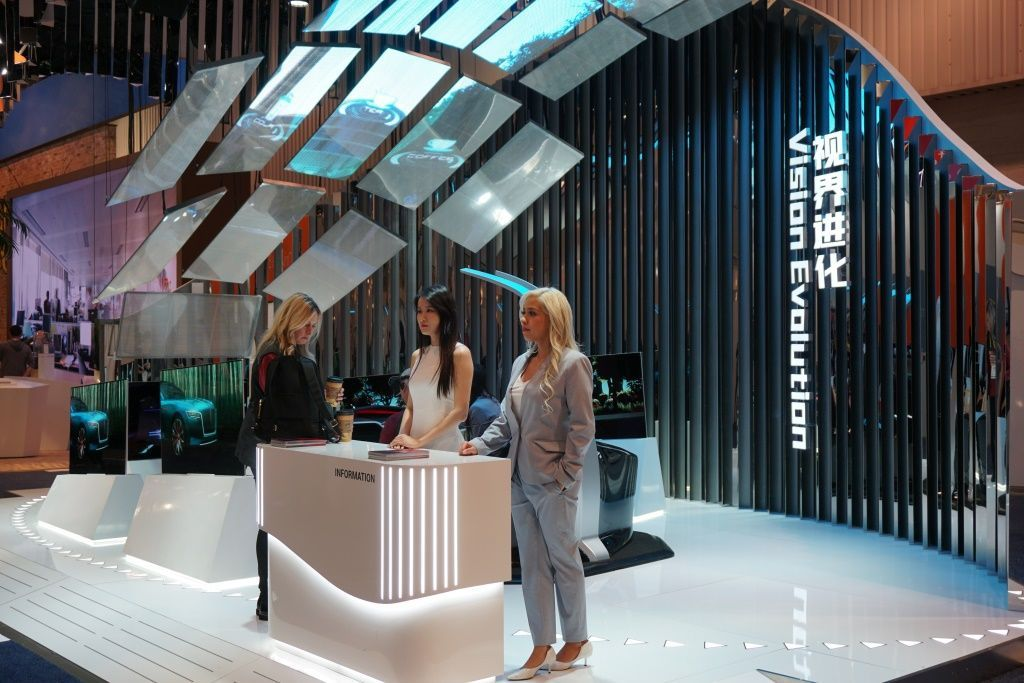 The Best of CES 2019 | RE | Exhibition booth design, Booth design