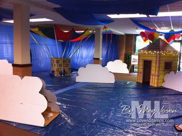 Sky vbs imagination station decorating ideas