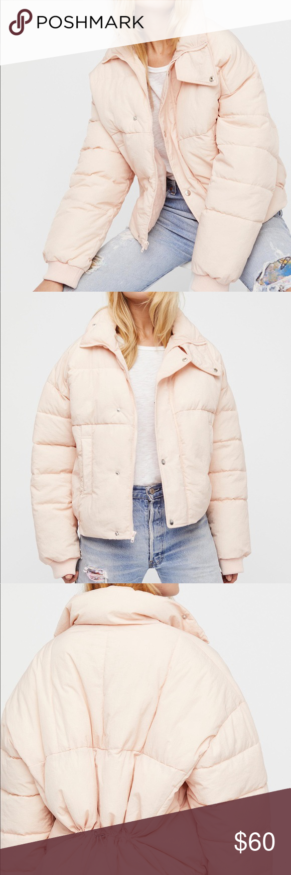 Free People Cold Rush Puffer Pink Puffer Jacket Free People Jacket Puffer [ 1740 x 580 Pixel ]