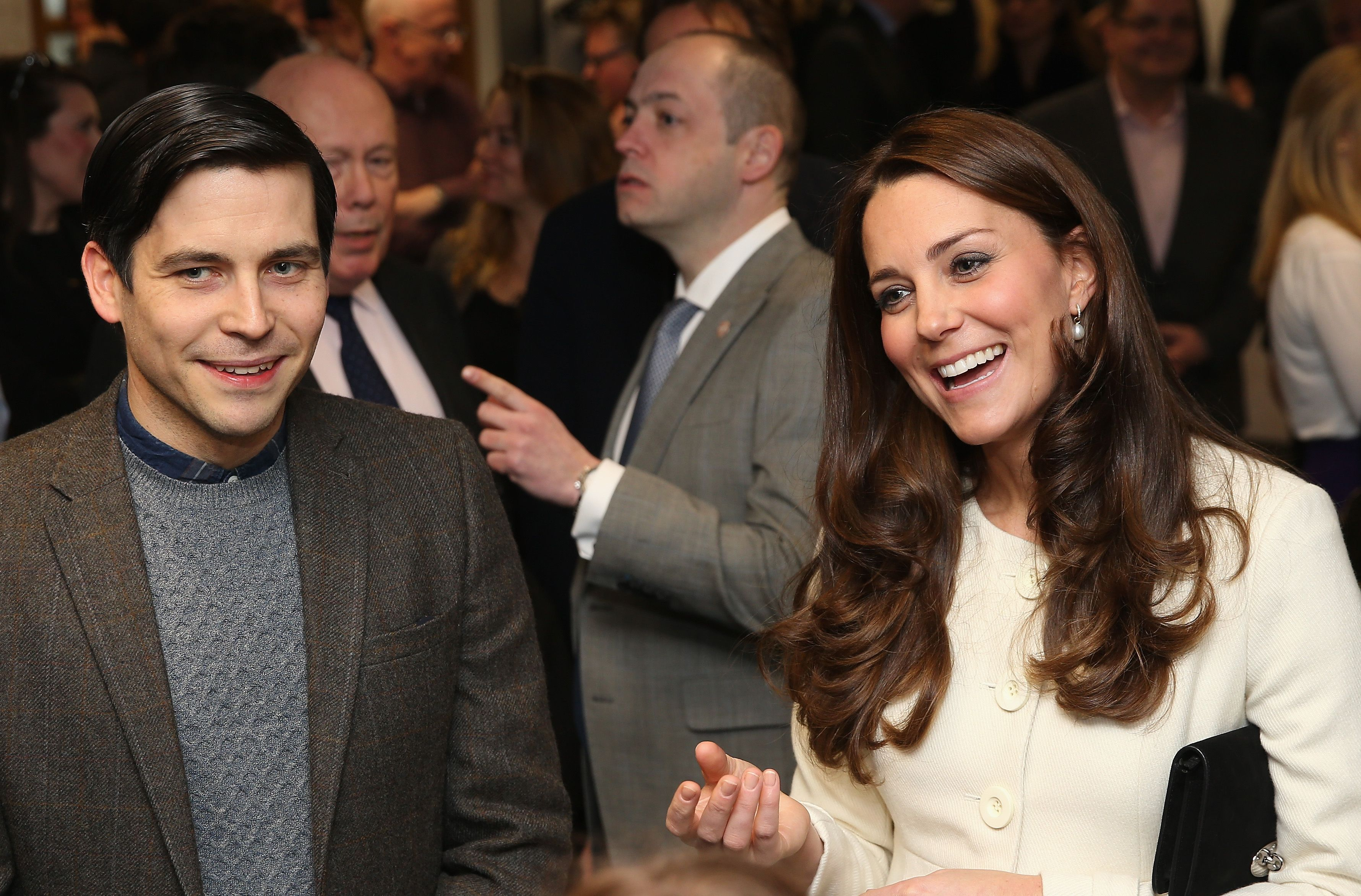 Kate Middleton Has The Cutest Meet And Greet On The Downton Abbey