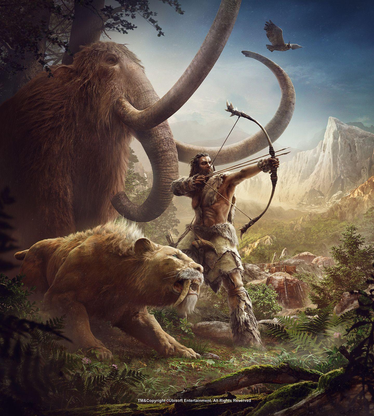 Beast Master Far Cry Primal, Eve Berthelette on
