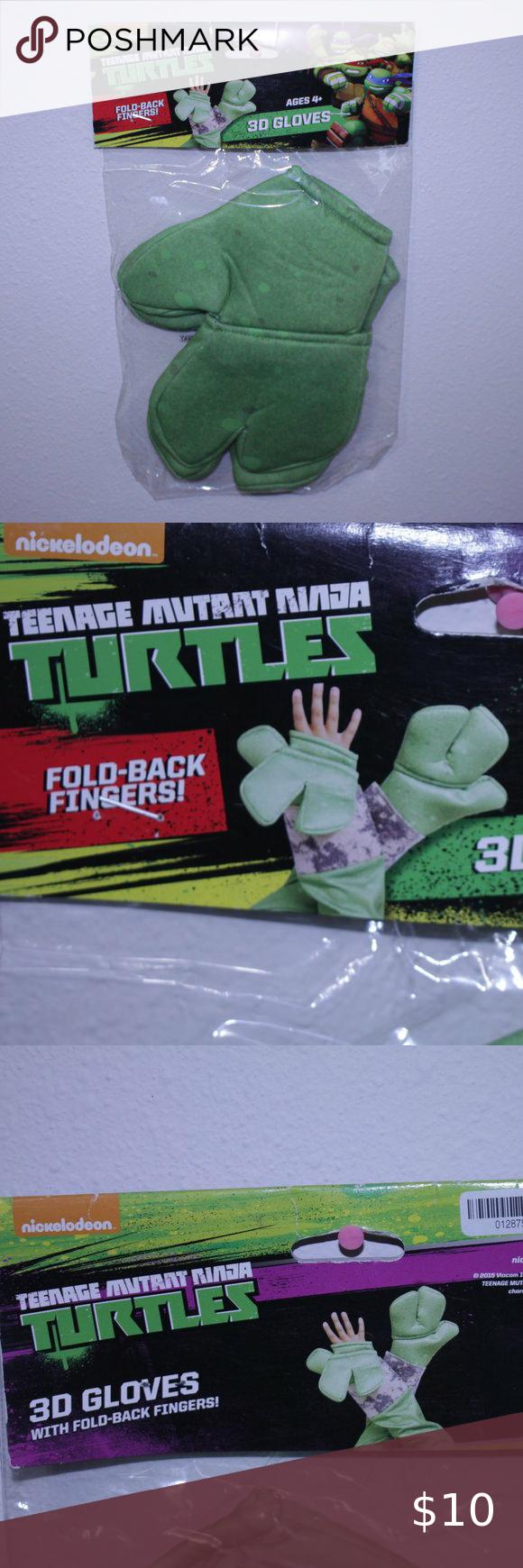 2020 Halloween Costumes Nickelodeon Teenage Mutant Ninja Turtles Kids Nickelodeon Teenage Mutant Ninja Turtle Glove in 2020