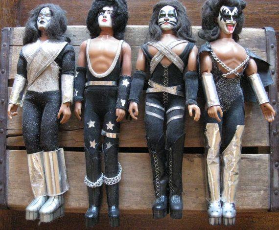 Vintage Kiss Mego Dolls Tour Book Program By Thewaybackmachine