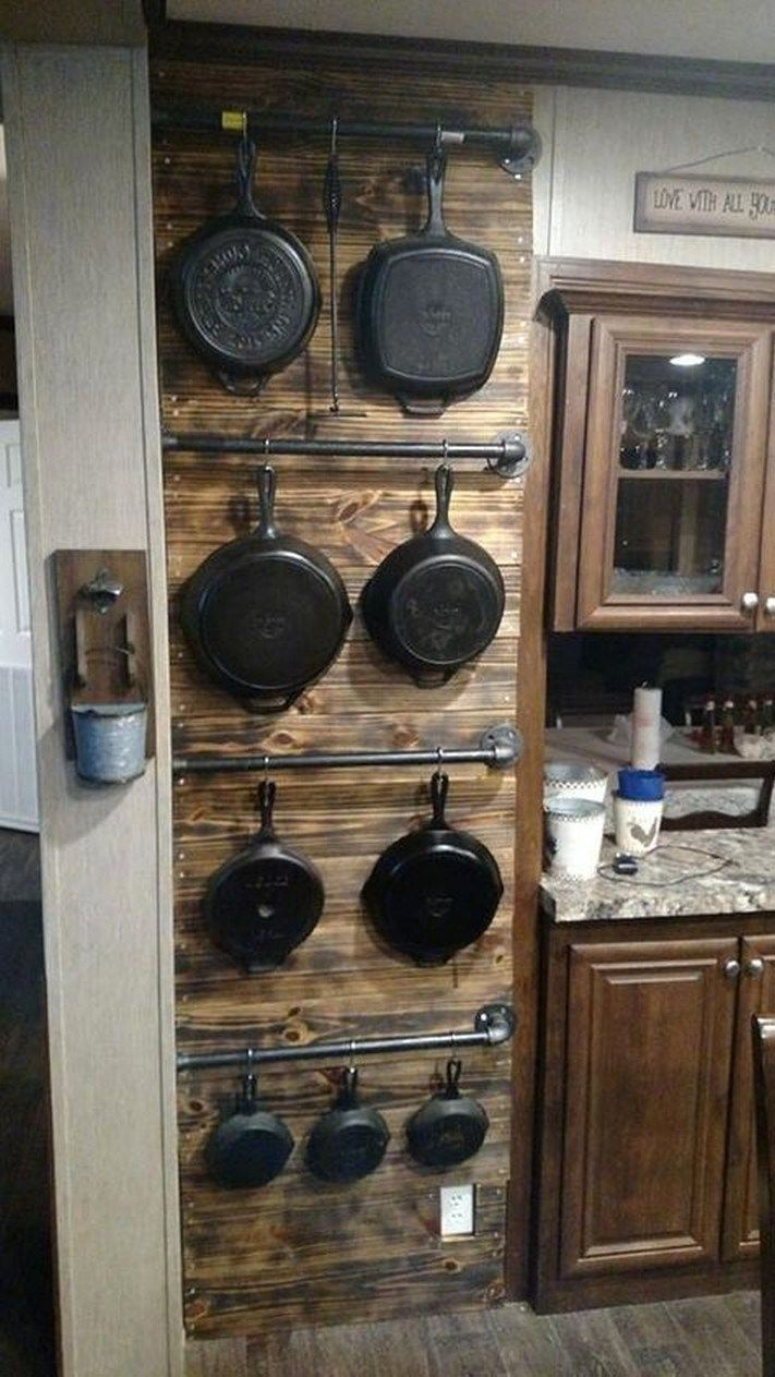 43 beautiful rustic kitchen cabinets ideas 30 | Kitchen ...