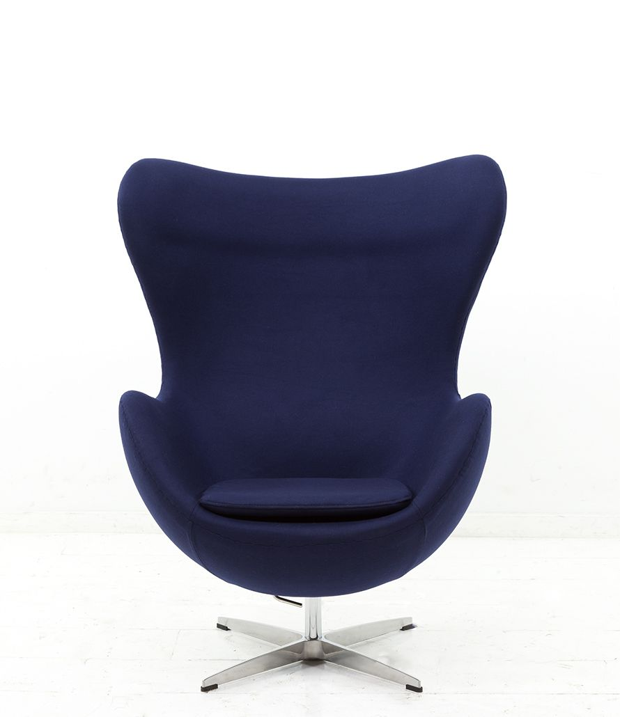 Egg Chair In Navy Chair Egg Chair Armchair