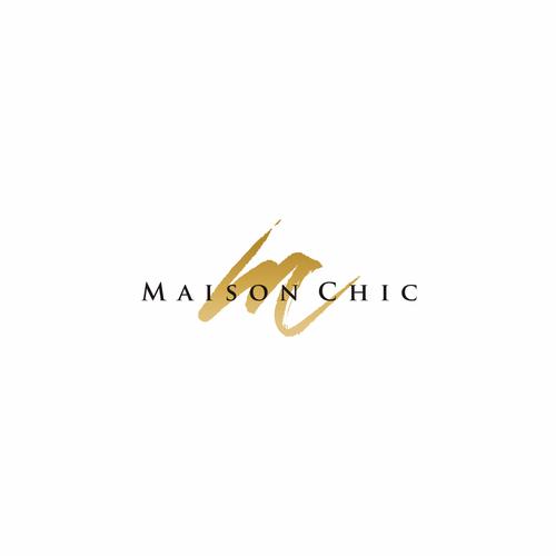 Maison Chic High End Clothing Line Logo Fashion Clothing High End Clothing Line Logos Geometric Logo Fashion Logo