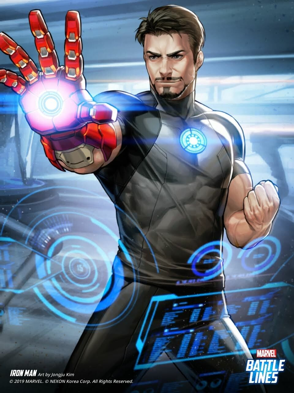 Artstation Marvel Battle Lines Artwork Tony Stark Haje 714 Tony Stark Fanart Tony Stark Comic Tony Stark Art