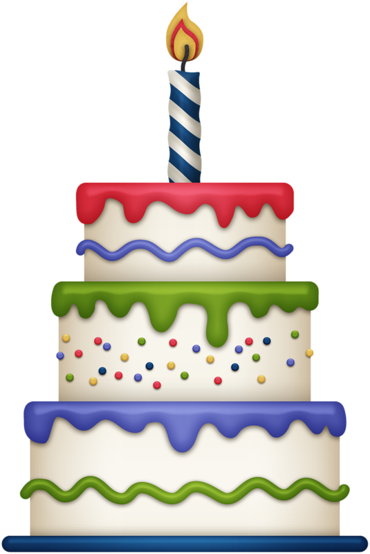 Cute Birthday Cake Clipart | Gallery Free Clipart Picture… Cakes ...