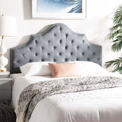 upholstered headboard full on Pin By Tamara Wiggins On R O O M R E N O Grey Tufted Headboard Tufted Upholstered Headboard Grey Headboard