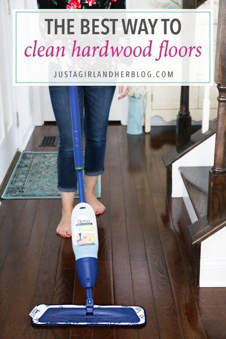 The Best Way To Clean Hardwood Floors Cleaning Wood Floors