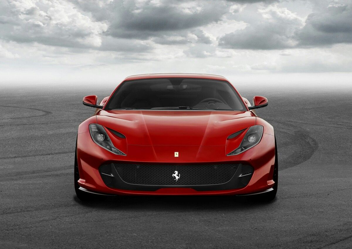 The new ferrari 812