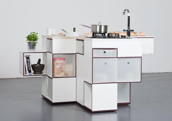 Einbauschränke Küchenspüle-moderne Kücheninsel | κουζινα | Pinterest ...