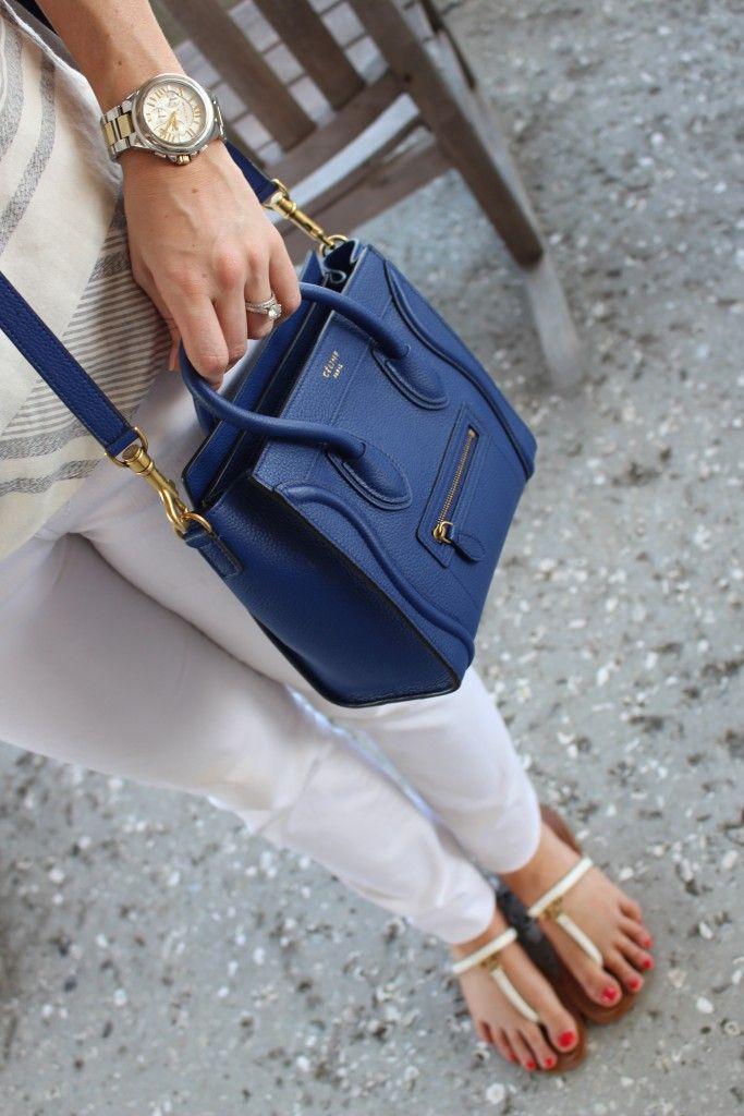 cad9e28ec3e3 Summer 2015    Celine Micro Cross-Body Bag!  thehisforblog - I dont like  the blue color