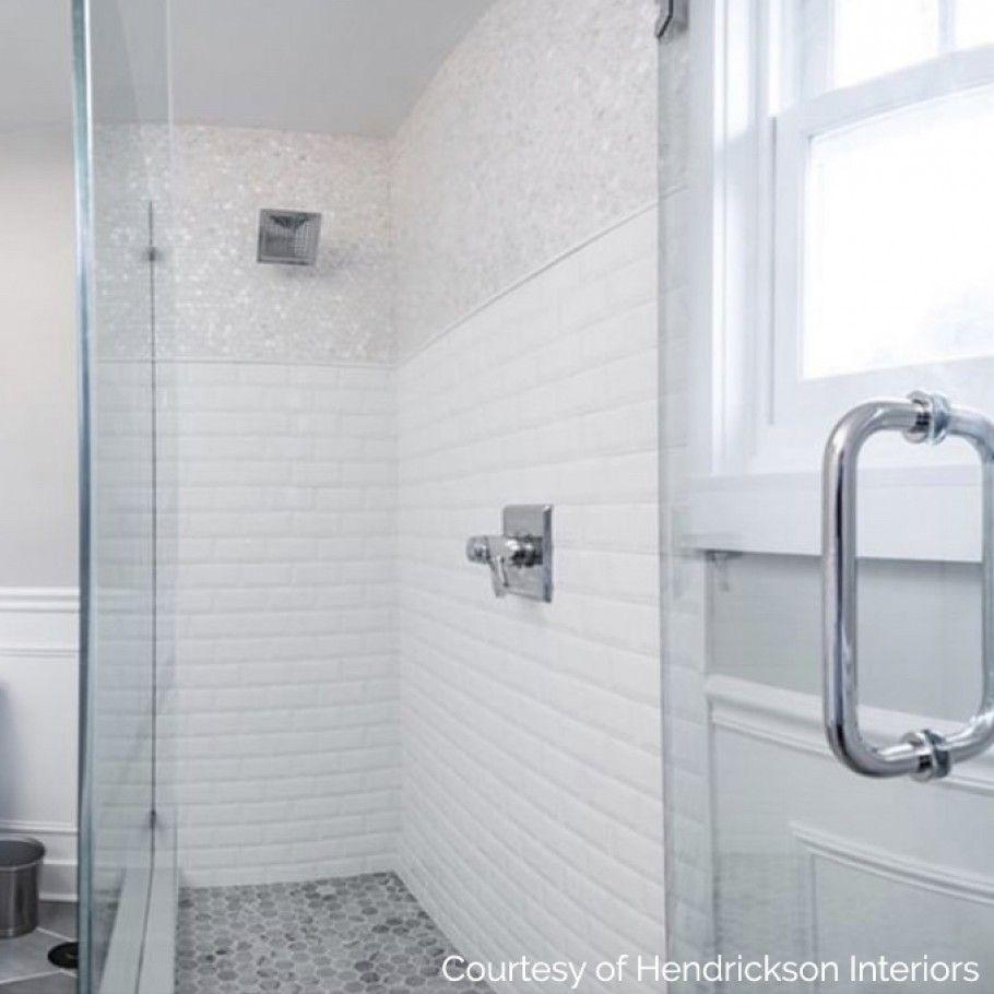 Oyster White Pearl Penny Round Tile Restroom Remodel Bathroom Wall Tile Restroom Design