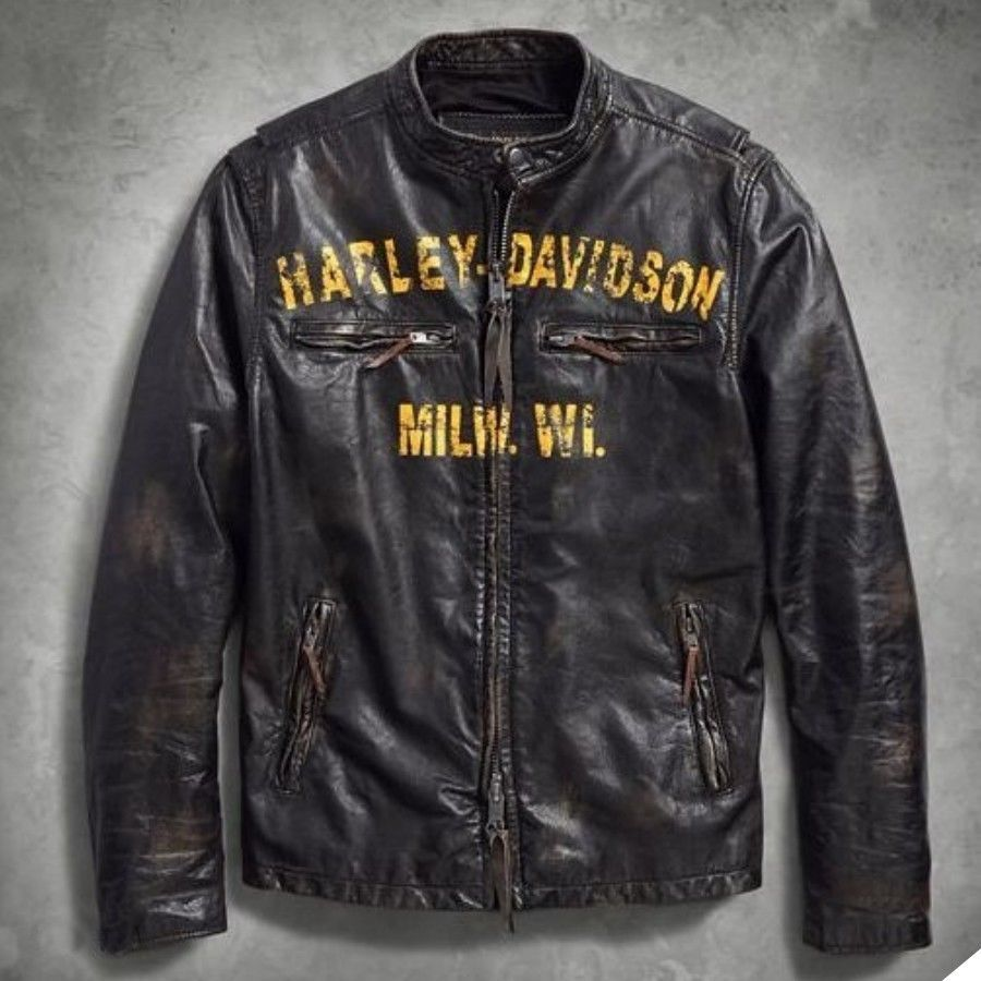 Harley Davidson Men S Forge Slim Fit Leather Jacket 97006 18v Limited Size M Xl Ebay Link Harley Jacket Leather Jacket Mens Sweatshirts Hoodie [ 900 x 900 Pixel ]
