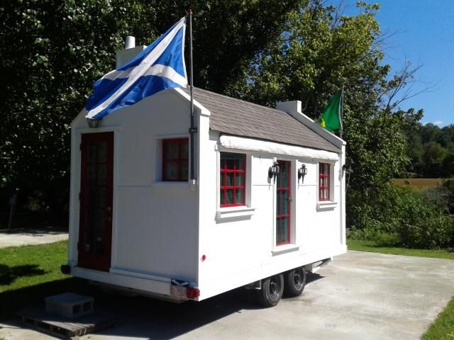 Superior Scottish Cottage Tiny House For Sale, Currently Set Up As A Mobile  Commercial Kitchen $16,500