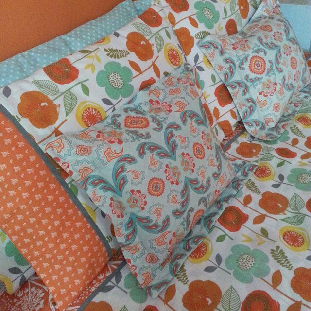 I just love making my bed now! #handmadehome #bedroomreno