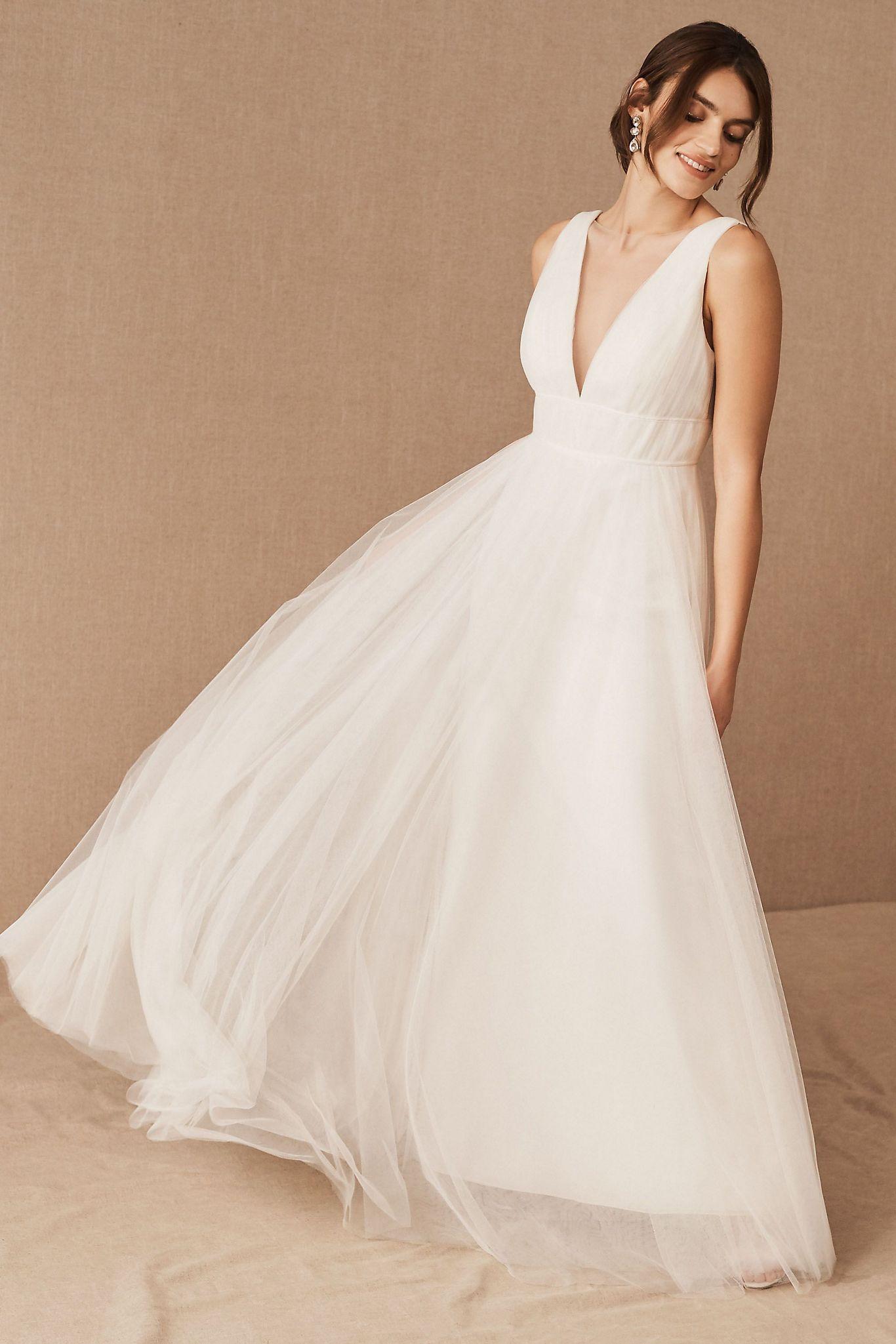 Jenny Yoo Sarita Dress Anthropologie In 2020 Wedding Dresses Under 500 Dresses Classic Wedding Dress