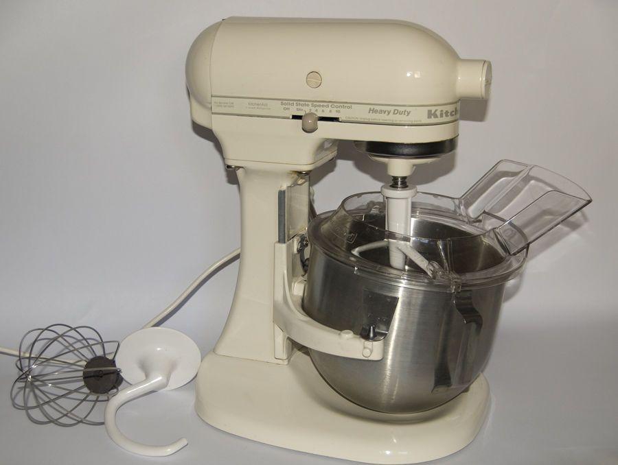 Kitchenaid Heavy Duty K5ss Ac 5 Qt Stand Mixer W