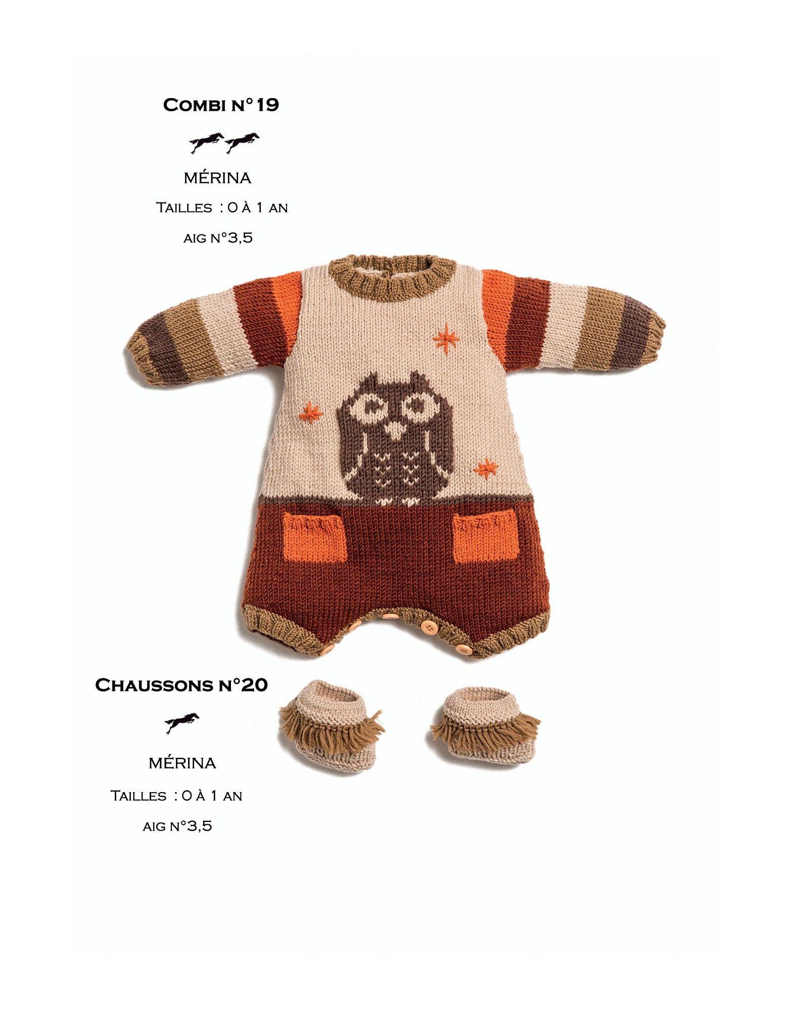 1725da8e792e Modèle combi enfant CB25-19 - Patron tricot gratuit