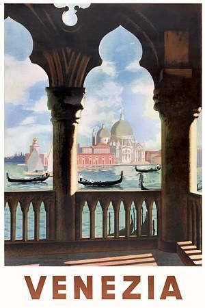 Venice Italy Vintage Travel Posters Prints