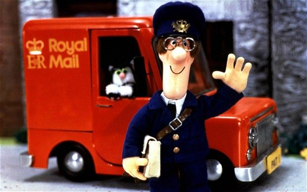 Postman Pat on his rounds with Jess the cat: remember theme song well, the show not so much