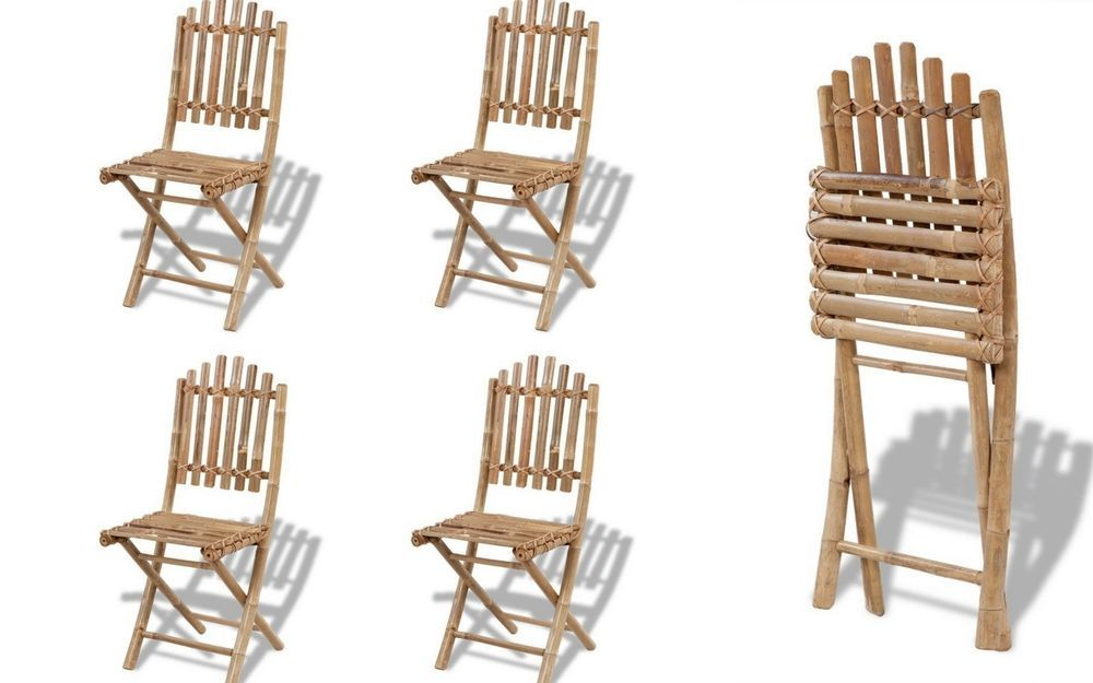 Fine Details About Folding Outdoor Chairs Dining Garden Chair Set Ncnpc Chair Design For Home Ncnpcorg