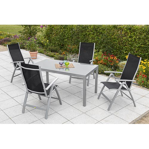 Kampen Living Lennard 4 Seater Dining Set In 2019 Products Metal