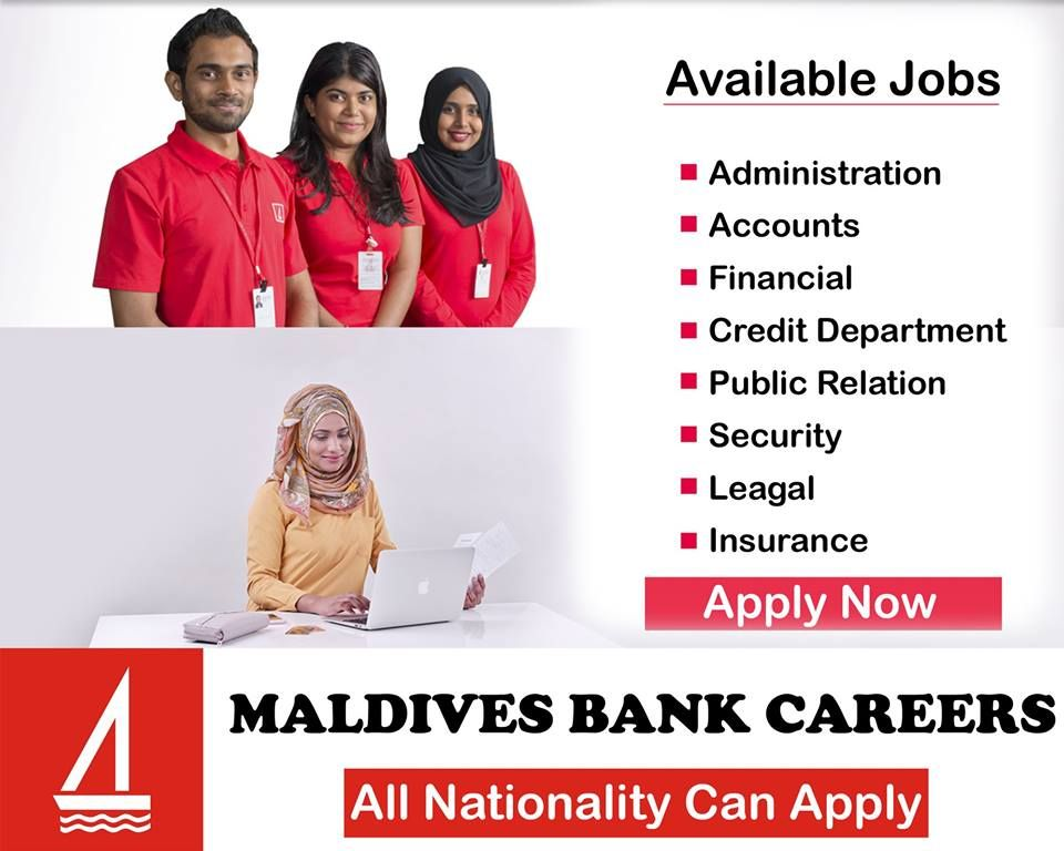 Careers Maldives Bank Public Relations Maldives Finance Bank