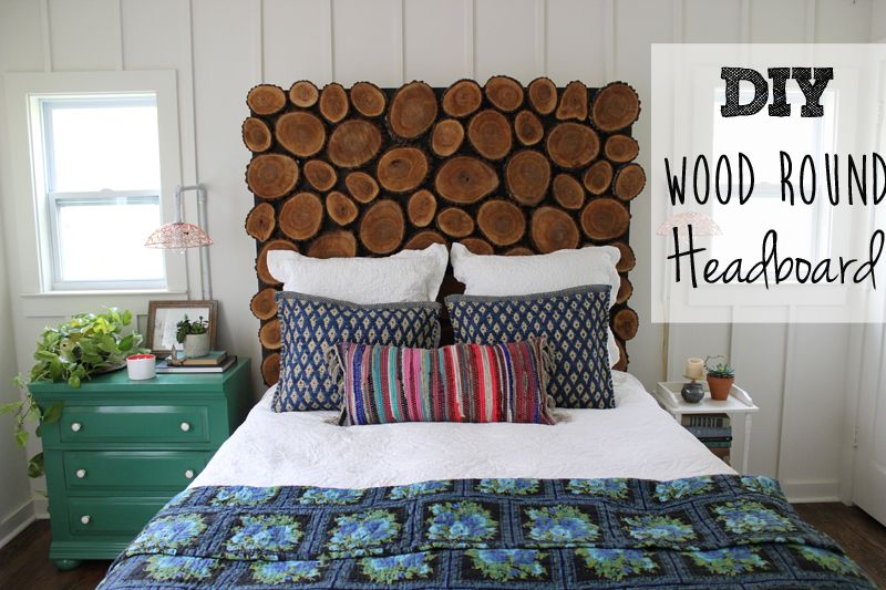 Diy Wood Round Headboard Bedroom Diy Diy Headboard Wooden