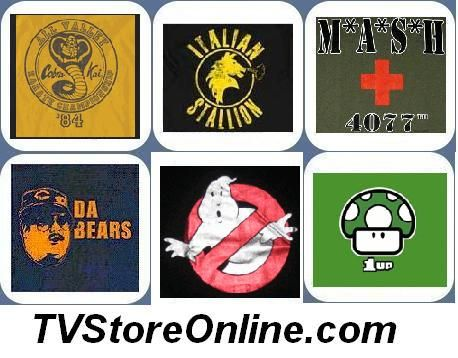 In business since 2001, TvStoreOnline.com has been a trusted leading online retailer for licensed apparel and accessories. Old and new TV shows, movies, comics, music, and video game t-shirts have become more popular in recent years. TVStoreOnline.com specializes in providing vintage and classic TV show and movie t-shirts, including lots of exlusive tees.
