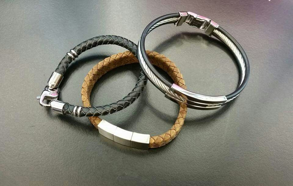 28227e32648cc AmorAustralia mens collection bracelets available at select Myer ...