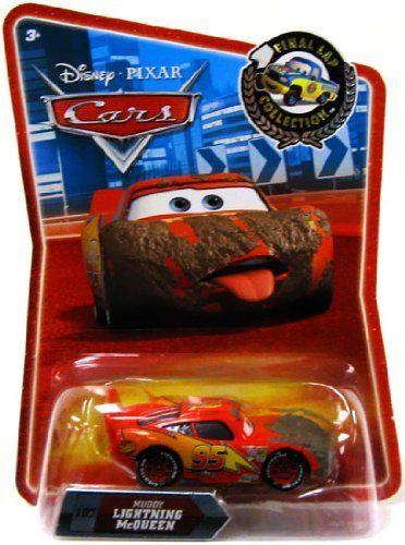 Disney Pixar Movie Cars Final Lap Collection Muddy Lightning