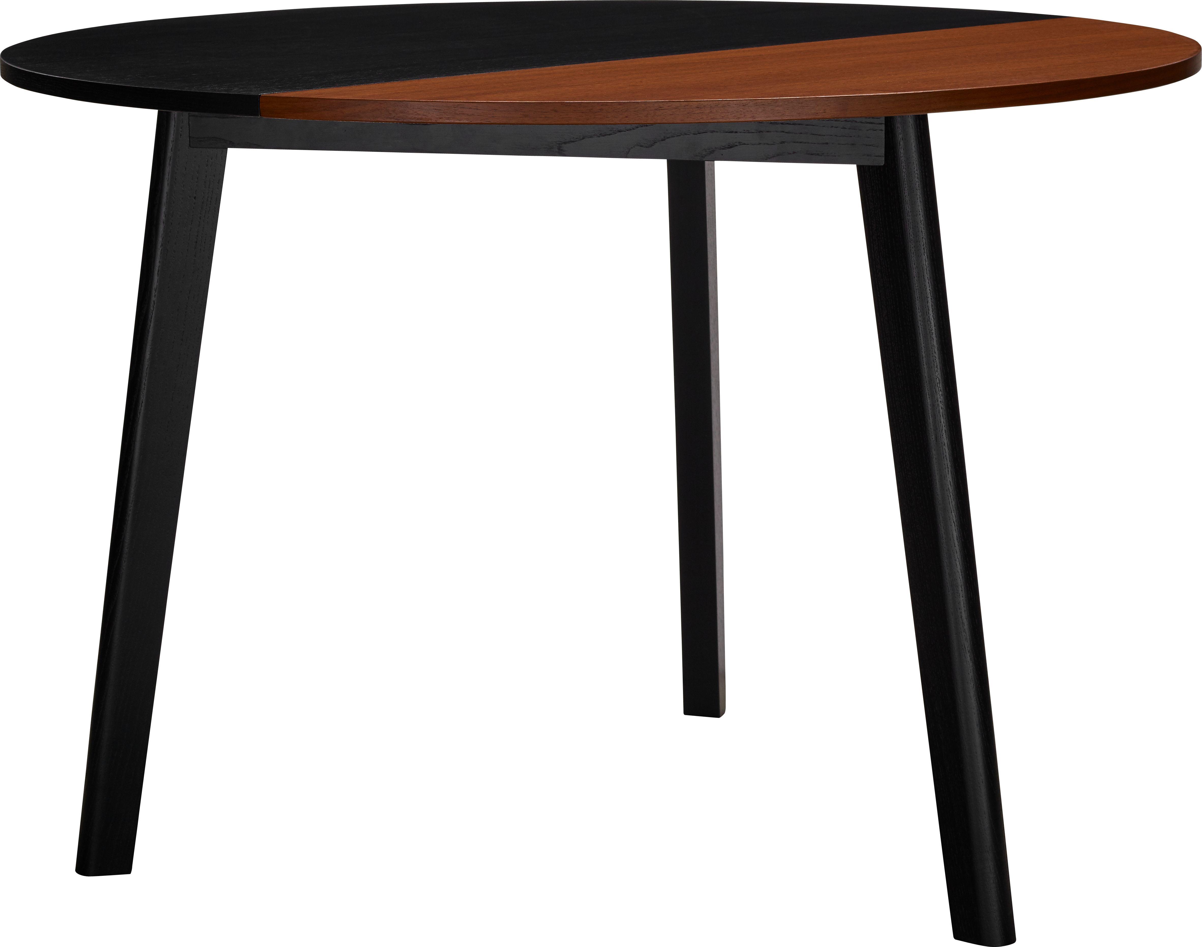Pivot Table Avec Plateau Bicolore Pliant En Noyer Design By Goncalo Campos Table Extensible Habitat Table Habitat