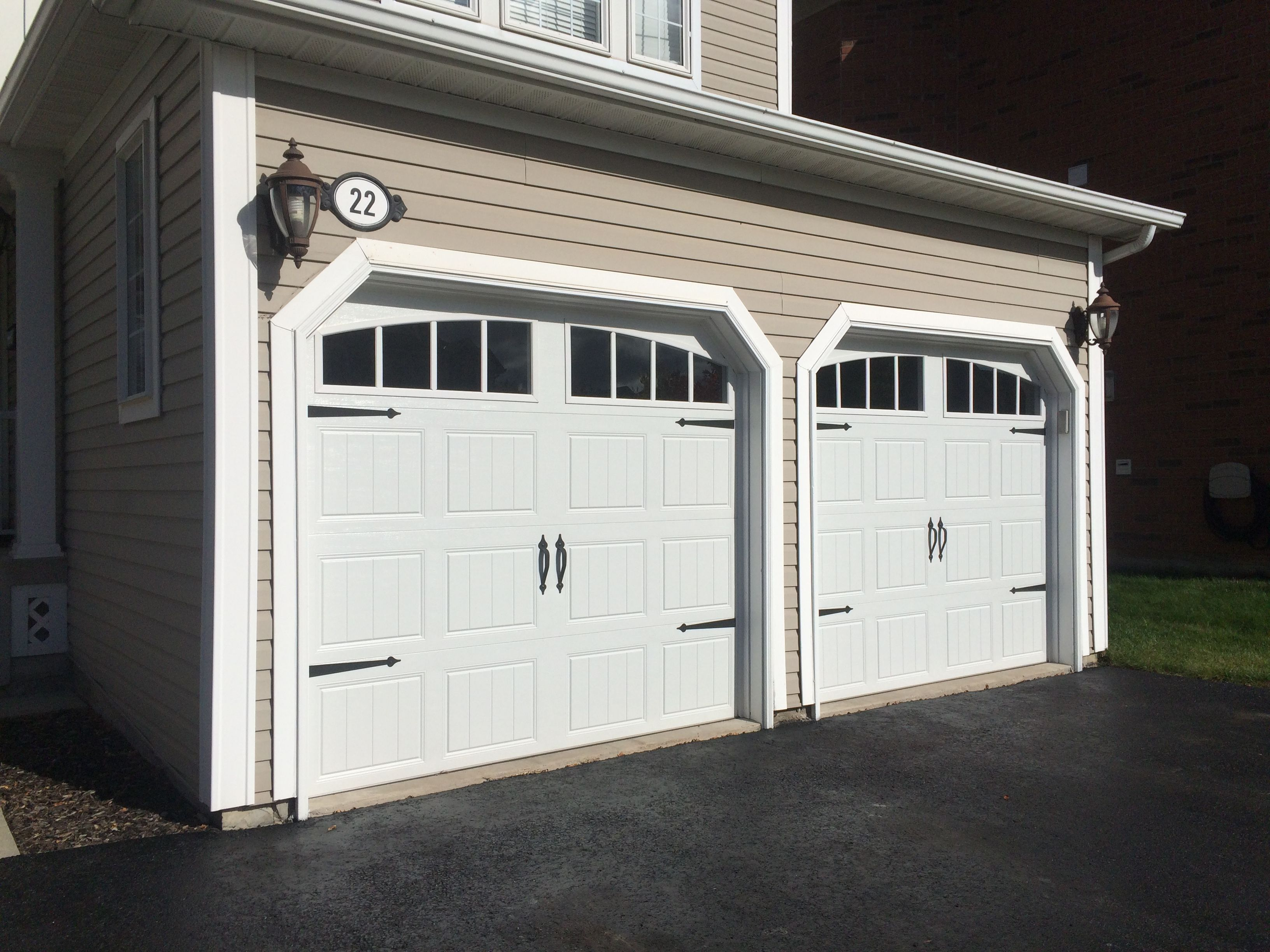 Whitby garage doors installed these clopay steel insulated for Clopay steel garage doors